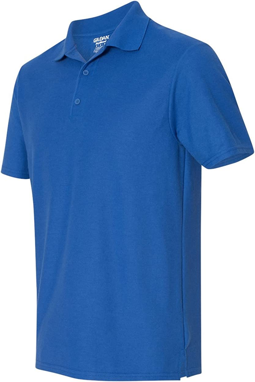 G728 Double Pique Sport Shirt 2XL Royal Blue Pack of 12 Gildan 6.3 oz