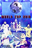 """WORLD CUP SOCCER 2018 RUSSIA - Commemorative Soccer Poster - Messi, Ronaldo, Neymar, Chicharito, Giclee Print - Premium Paper 200 Year Archival inks - Wall Art 24'' x 36"""" Ready-to-frame"""
