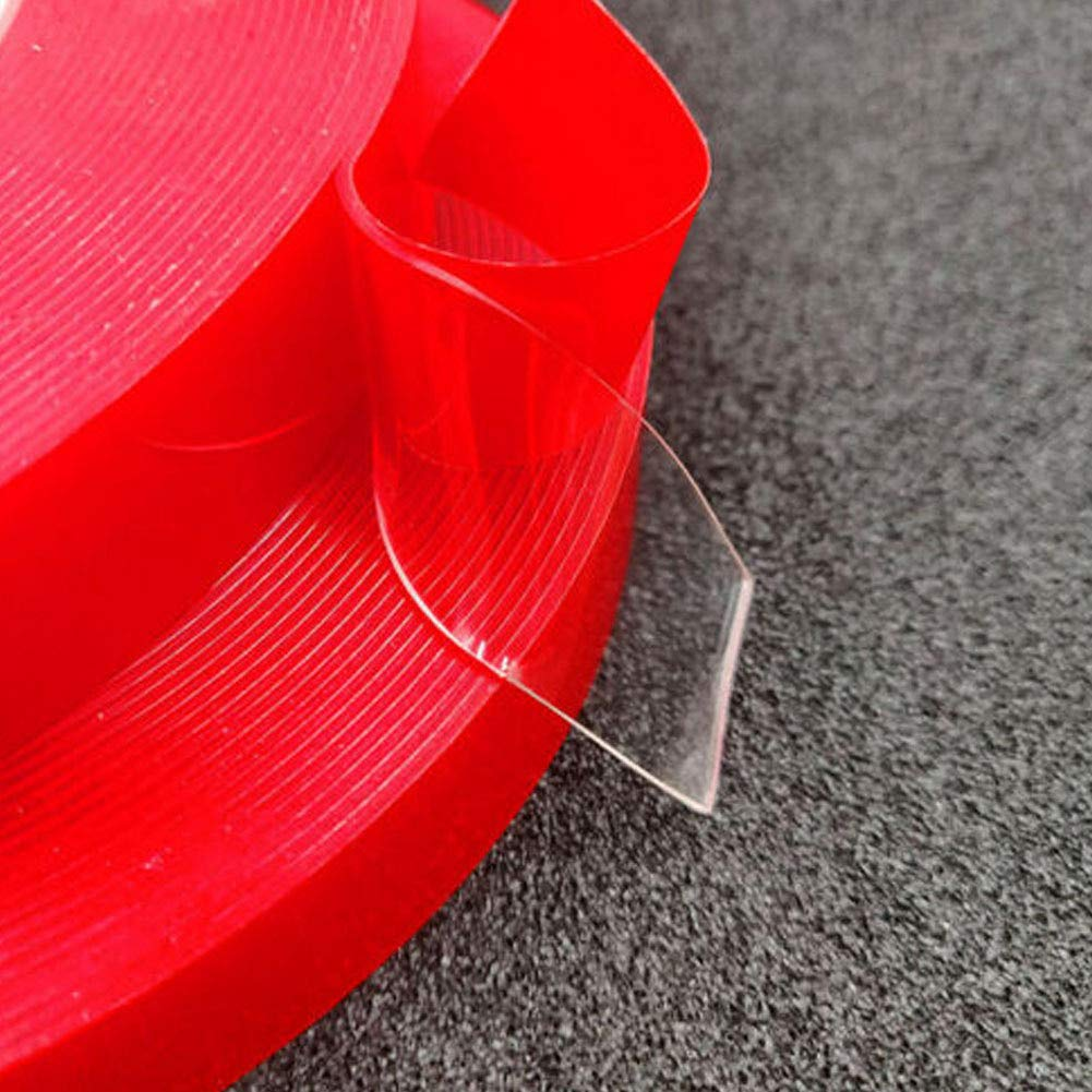 DirkFigge Nano Magic Tape Nastro Biadesivo Nastro Adesivo Scozzese Resistente alladesione Senza Tracce