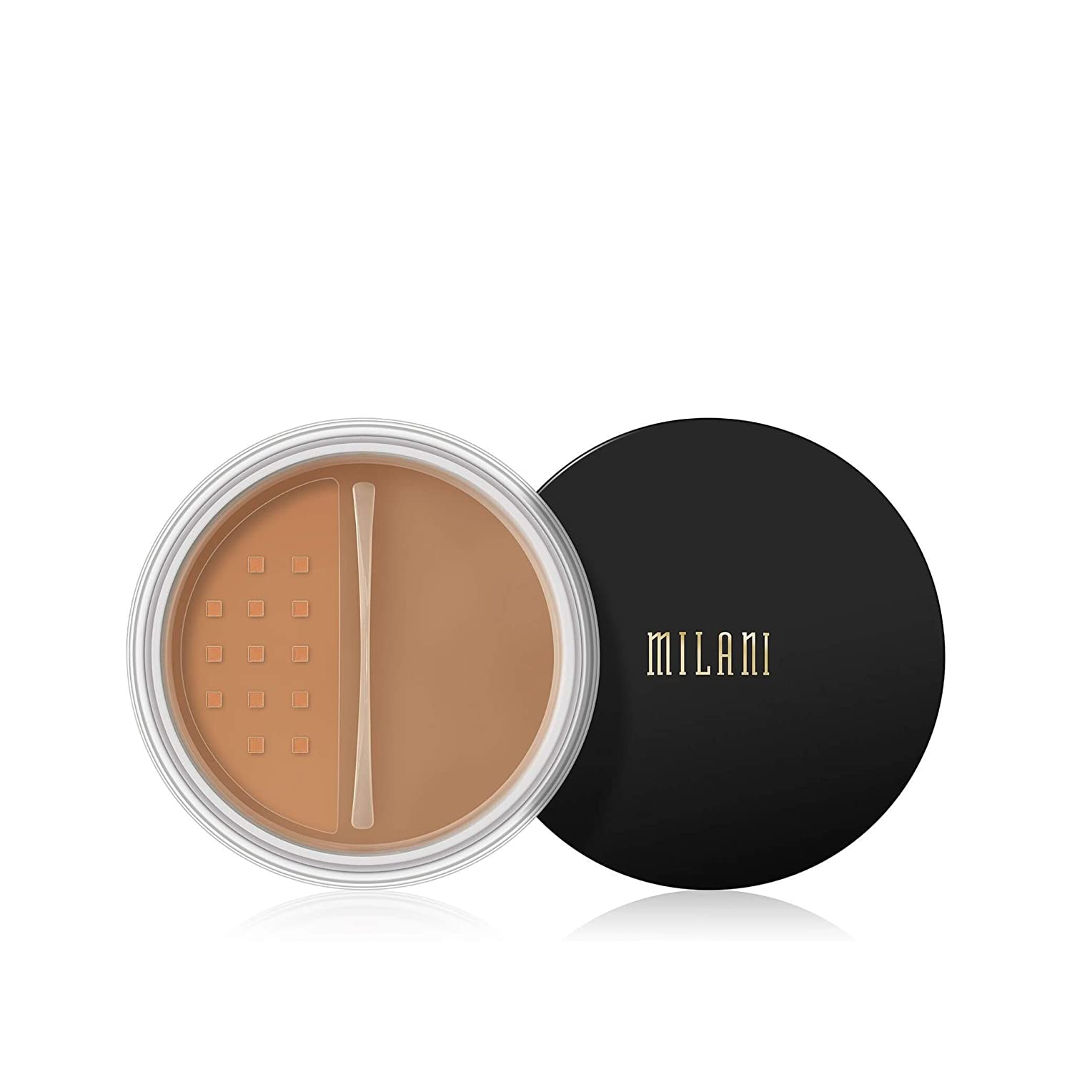 Milani Make It Last Setting Powder - Translucent Medium to Deep (0.12 Ounce) Cruelty-Free Mattifying Face Powder that Sets Makeup for Long-Lasting Wear