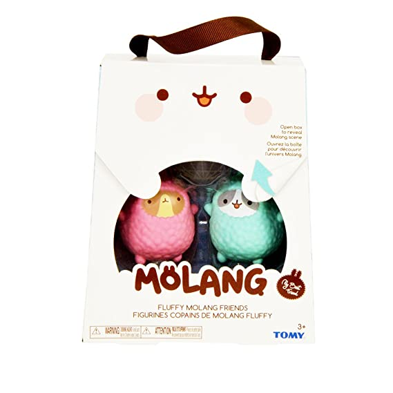 Amazon.com: TOMY Molang Collection Figures 3-8 cm Assortment (12) Peluches: Sports & Outdoors