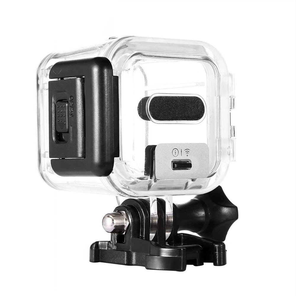 Taotree GoPro HERO Session 5 Waterproof Housing Standard Protective Case Replacement with Bracket & Screw for GoPro HERO5 Session 45m Underwater Diving by Taotree
