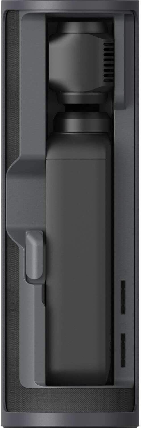 1 Year Limited Wty CP.OS.00000004.01 1500mAh of Power Four ND Filters and Two Smartphone Adapters Spin-to-Open Design Hold Two MicroSD Cards 2019 DJI Osmo Pocket Charging Case