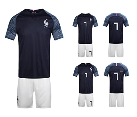 Amazon.com : ZLJTYN French Jersey, 2018, Portugal, Football ...
