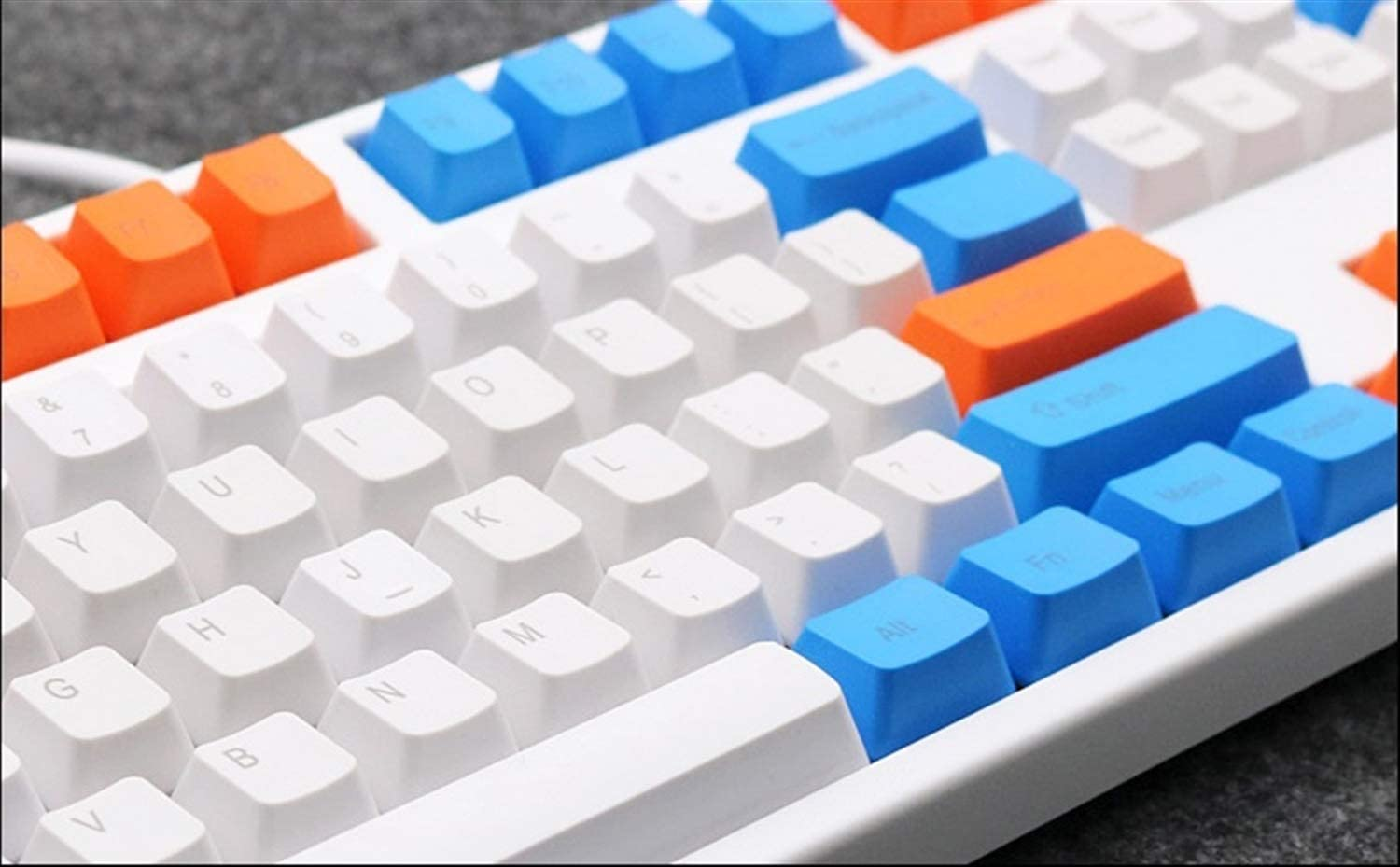 Keyboard keycaps Theme Keycaps PBT 108-key Three Colors Mix Profile for Switches of Mechanical Keyboard Color : 108 Key
