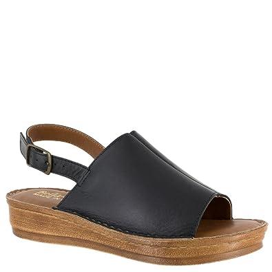 2085c26005d803 Bella Vita Womens Wit-Italy Black Italian Leather 5.5 M (B)