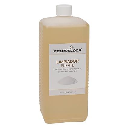 Limpiador fuerte cuero/piel, Litro + botella espuma 125 ml ...