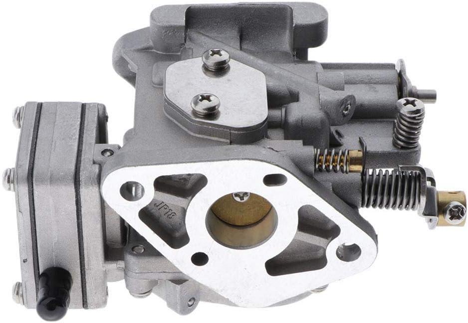 perfk Carburetor Carb Assy 6L5-14301-01 6L5-14301-03 00 for Yamaha 3Hp 2 Stroke Outboard Motors
