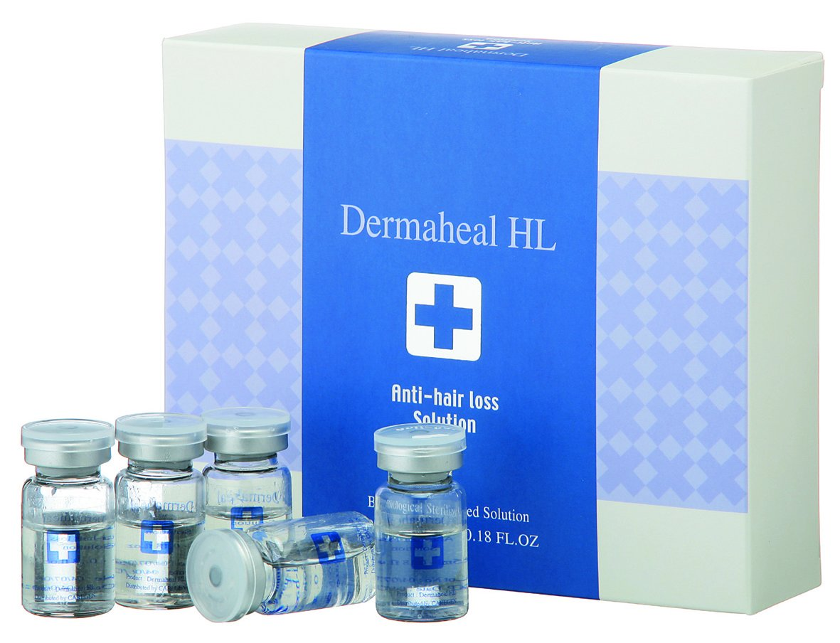 Dermaheal HL Anti-Hair Loss Solution (Biological Sterilized Solution) 10x5ml Caregen