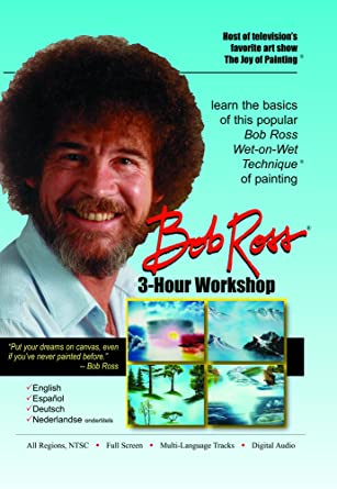 Fine Amazon Com Bob Ross Joy Of Painting Series 3 Hour Workshop Dvd Short Hairstyles For Black Women Fulllsitofus