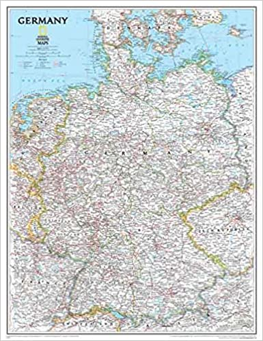 Amazon.com: National Geographic: Germany Clic Wall Map ... on ireland map, mexico map, portugal map, the netherlands map, spain map, england map, france map, turkey map, india map, iceland map, texas map, israel map, austria map, croatia map, peru map, cyprus map, czech republic map, japan map, denmark map, greece map, italy map, great britain map, bavaria map, belgium map, native american map, australia map, norway map, poland map, canada map, united kingdom map, luxembourg map, europe map, china map,