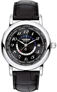 d8824221cf0 Amazon.com  Montblanc Men s 102377 Star Chronograph Watch  Montblanc ...