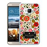 Unique Designed Kate Spade Cover Case For HTC ONE M9 White Phone Case 74