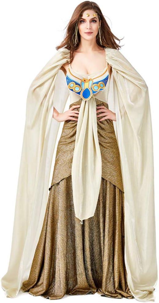 QZ Niñas Traje Cleopatra Niños Princesa Egipcia Vestido Queen of ...