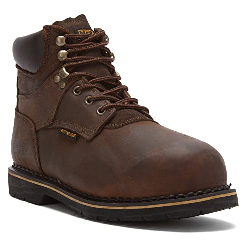 6161459bcf4 McRae Industrial Men's Safety Toe Internal Met-guard Lace-up Boots