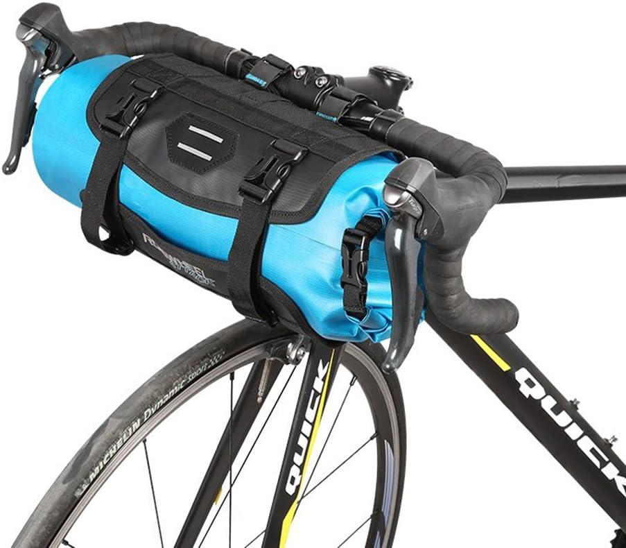 Waterproof Bicycle Handlebar Bag Packing MTB Road Bike Handlebar Roll Bag