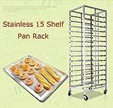 TECHTONGDA BRAND NEW Stainless 15 Shelf Pan Rack(Item#024304)