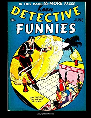 Keen Detective Funnies 6: 1939 Detective Mystery Comic
