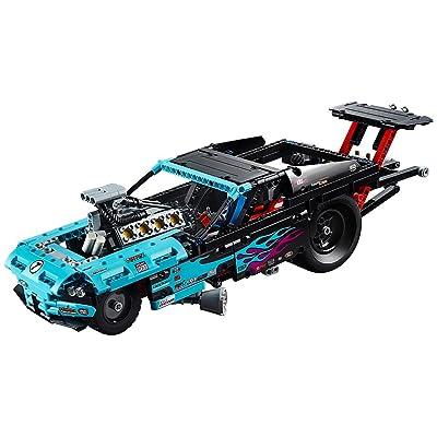 LEGO Technic Drag Racer 42050: Toys & Games [5Bkhe1105836]