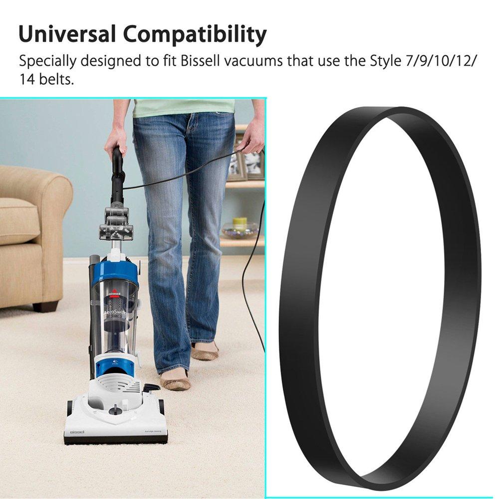 amazon com mumaxun 6pcs vacuum belt fit bissel style 7 9 10 12 14amazon com mumaxun 6pcs vacuum belt fit bissel style 7 9 10 12 14 16 replacement part 32074, 2031093, 3031120