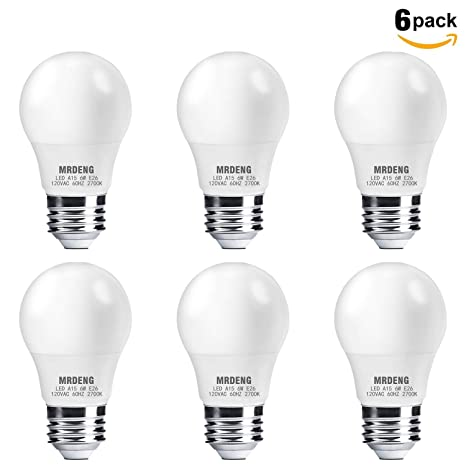 Mrdeng A15 Led Bulb Led Light Bulbs 60w Equivalent 6w Leds Warm