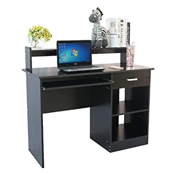Amazon.com: Computer Desk with Hutch Home Office Desk Corner ...
