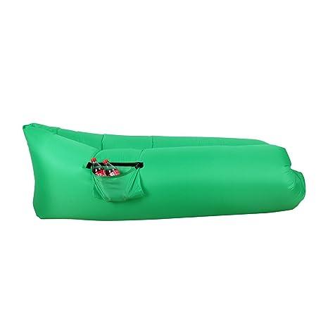 Winhi - Tumbona hinchable para exteriores, sofá, cama, tejido de ...