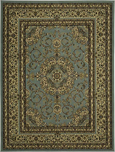 - Sweethome King Collection Isfahan Oriental Medallion Design Area Rug, 7'10