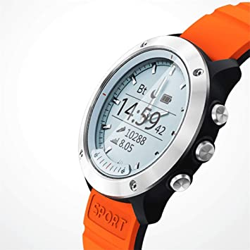 AUOKP Pantalla Inteligente Reloj Inteligente Hombres Ip68 ...