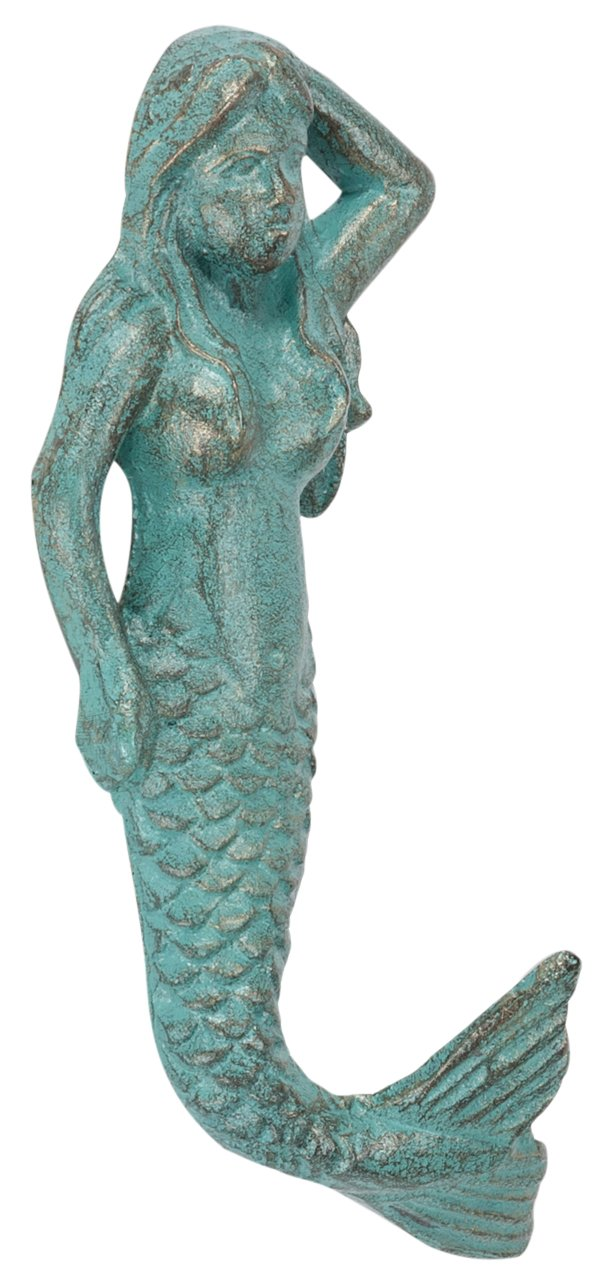 Abbott 27-Iron Age/288 Collection Light Green Mermaid Wall Hook product image