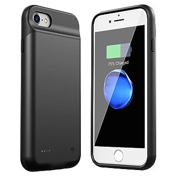 HiKiNS Funda Batería para iPhone 6/6S/7/8 3000mAh Externa ...