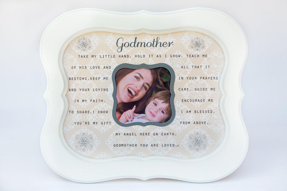 The Grandparent Gift Godmother, Sentiment Photo Frame from Godchild The Grandparent Gift Co. 9400WS