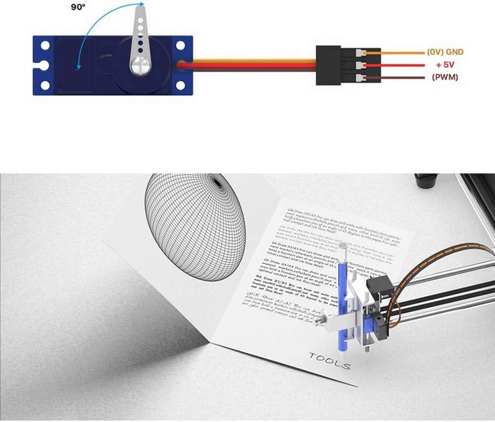 2 ejes DIY CNC XY Plotter Stift Desktop dibujo Robotik Hochpräzise ...