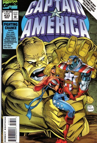 Captain America #433 Fighting Chance 9