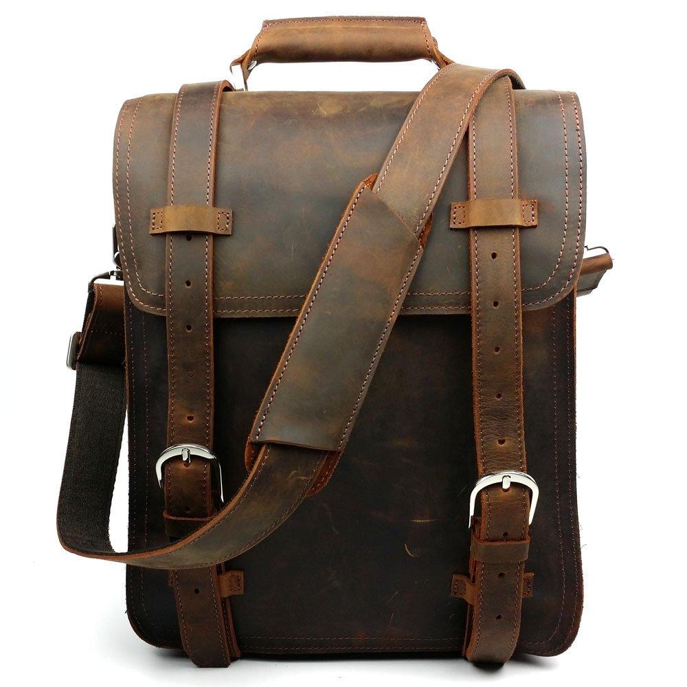 Tendencias europeas y americanas Vintage locas Ma Pinan bolso multifuncional paquetes de solo hombro hombro colgado: Amazon.es: Deportes y aire libre