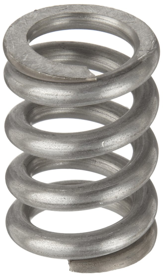 Compression Spring Stainless Steel Metric 19.2 mm OD 3.2 mm Wire Size 69.39 mm Compressed Length 120 mm Free Length 600.38 N Load Capacity 11.76 N mm Spring Rate Pack of 10