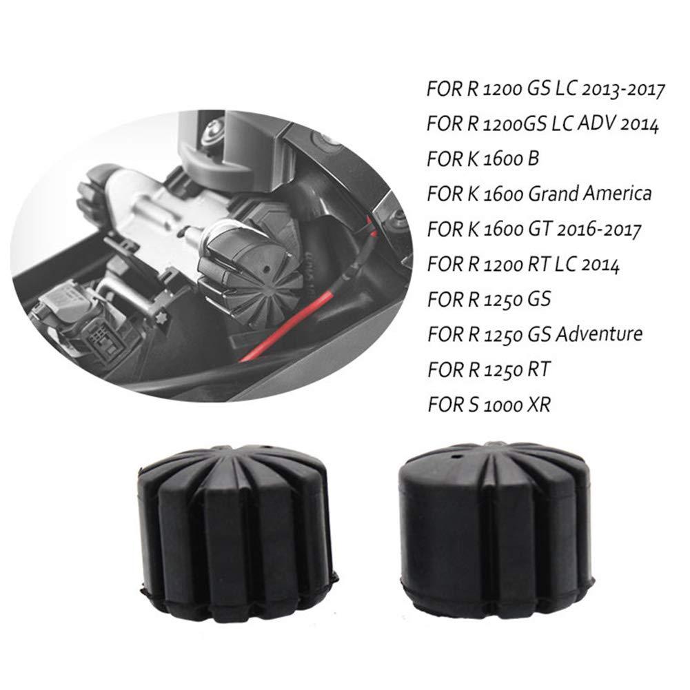 GCDN 2PCS Seat Lowering Kit Motorcycle Adjustable Durable Rubber Seat Lowering Kit for R1200GS K1600GT Rider Seat Saddle Lower lowering Kit