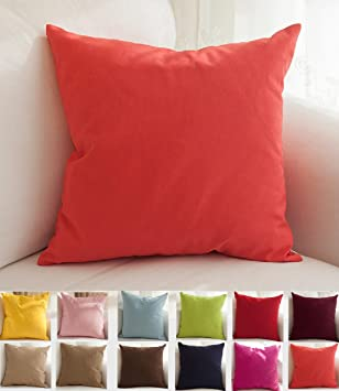 Superior TangDepot Cotton Solid Throw Pillow Covers, 26u0026quot; X 26u0026quot; ...