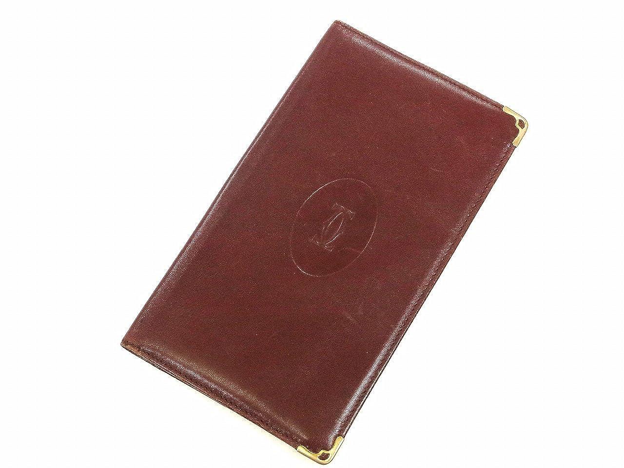 [カルティエ] Cartier 長財布 レザー X8659 中古   B01BHGZF5A