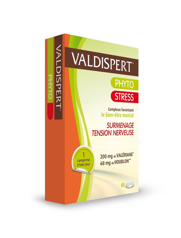 Phyto stress valériane + houblon 40 comprimés: Amazon.es: Deportes y aire libre