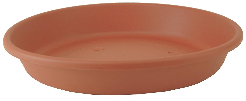 Akro Mils SLI24000E35 Deep Saucer for Classic Pot, Clay Color, 21-Inch