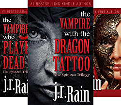 The Spinoza Trilogy 3 Book Series By JR Rain
