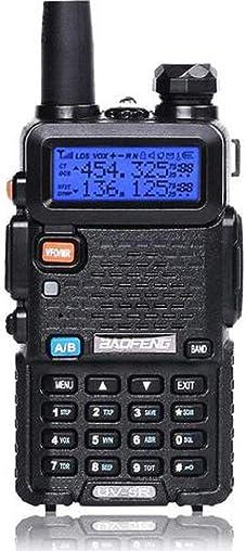Baofeng UV-5R Two Way Radio Dual Band 136-174 400-480Mhz Walkie Talkie 1800mAh Li-ion Battery