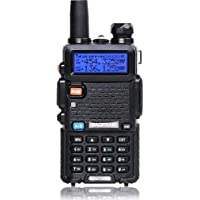 Baofeng UV-5R Two Way Radio Dual Band Walkie Talkie 1800mAh Li-ion Battery(Black) photo