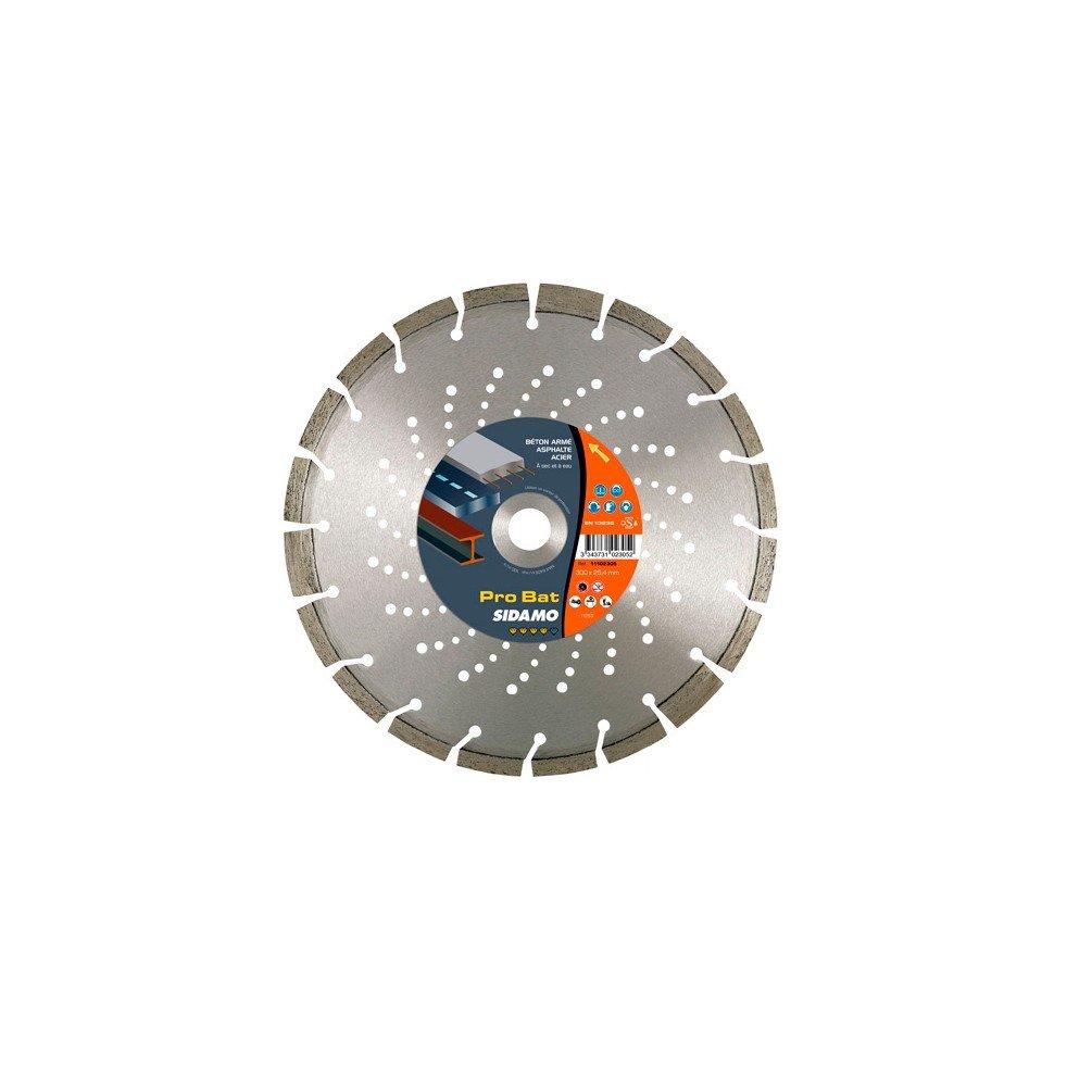 Sidamo–Festplatte Diamant Pro Bat D.350x 20x 10x EPH. 3,2mm–Beton/Stähle/asphalt/Materialien–11102306