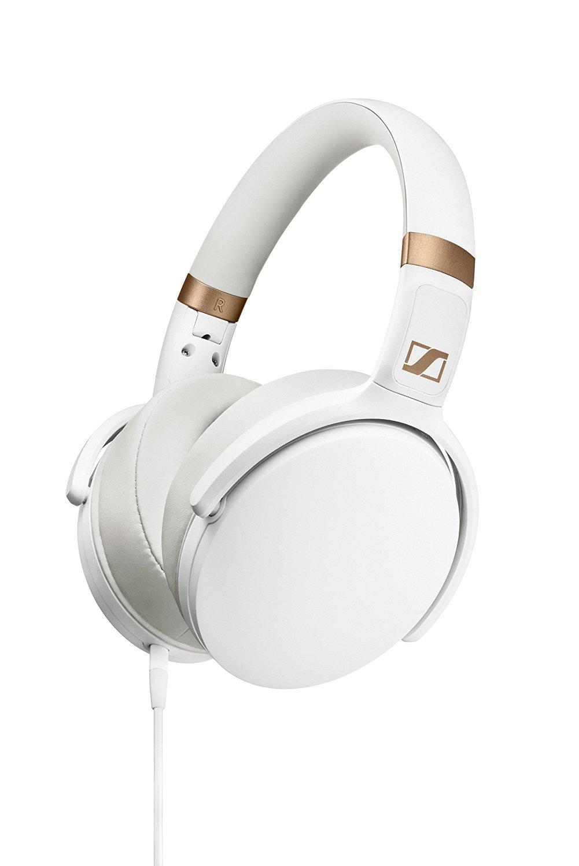 Sennheiser HD 4.30i Cuffia Microfonica Circumaurale Chiusa Compatibile con Dispositivi iOS, Bianco