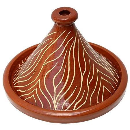 L ́ Orient Tajine NAR de Marruecos Glasiert Tontopf Ø 30 cm ...