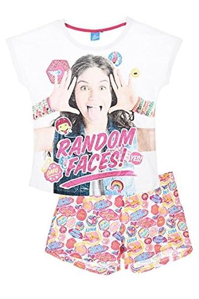 Soy Luna - Pijama - para niña Bianco 8 años: Amazon.es: Ropa y accesorios