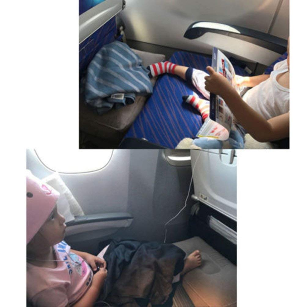 Gris VCB Reposapi/és Inflable Travel Air Pillow Cushion Office Home Reposapi/és Relax