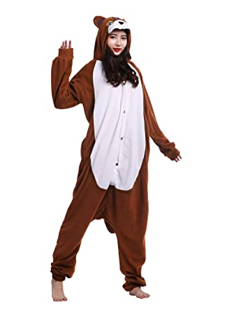 Pijamas Kigurumi de Animales para Adulto Unisex Traje de Disfraz Carnaval Halloween Navidad